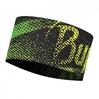 Buff Headband Flash Logo Yellow