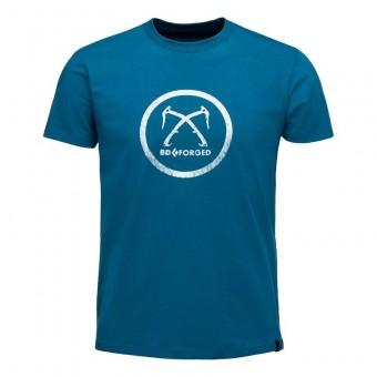 Ανδρική κοντομάνικη μπλούζα από οργανικό βαμβάκι BLACK DIAMOND