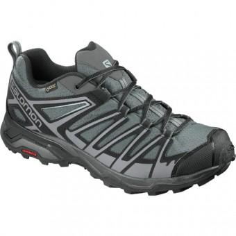 Ανδρικά αδιάβροχα παπούτσια πεζοπορίας SALOMON